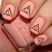 Harry Potter Deathly Hallows Nail Decals 36 Ct.