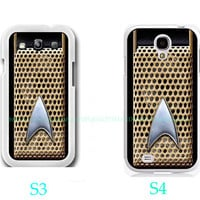 Star Trek Communicator-Samsung Galaxy S3 ,Samsung Galaxy S4 ,you can choose S3 or S4-includes screen protector and cleaning cloth