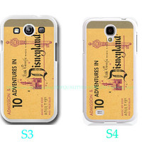 Disneyland-Samsung Galaxy S3 ,Samsung Galaxy S4 ,you can choose S3 or S4-Includes screen protector and cleaning cloth