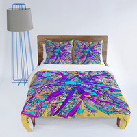 DENY Designs Home Accessories | Ingrid Padilla Purple Petals Duvet Cover