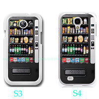 Vending Machine-Samsung Galaxy S3 ,Samsung Galaxy S4 ,you can choose S3 or S4-includes screen protector and cleaning cloth