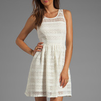 BB Dakota Jacynth Cotton Crochet Dress in Ivory from REVOLVEclothing.com