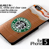 AJ 169 starbuck coffe - iPhone 5 Case