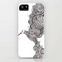 Hummingbird iPhone & iPod Case by Sherise Seven Art