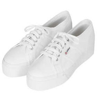 SUPERGA Flatform Lace Ups - New In This Week  - New In