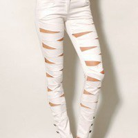 Slashed Trousers - ShopAKIRA.com