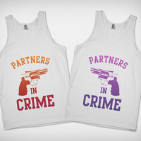 Partners in Crime Best Friend Tanks | Skreened.com