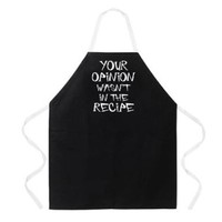 Attitude Apron Your Opinion Apron, Black, One Size Fits Most:Amazon:Home & Kitchen