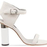 Senso Sasha in White Silver Plexi Heel at Solestruck.com