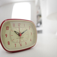 Kikkerland Design Inc   » Products  » Retro Alarm Clock + Colors