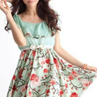 BEAUTIFUL FLORAL DESIGN DAY DRESS (MEMORIAL DAY SALE!)