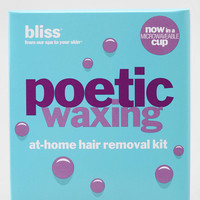 bliss Poetic Microwavable Waxing Kit