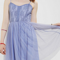 Band Of Gypsies Tulle-Skirt Skater Dress