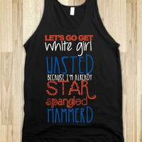STAR SPANGLED HAMMERED TANK 2
