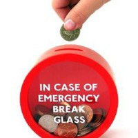 Emergency Money Box (by Suck UK):Amazon:Home & Kitchen