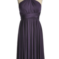 As You Wish Convertible Dress in Eggplant - $59.95 : Indie, Retro, Party, Vintage, Plus Size, Convertible, Cocktail Dresses in Canada