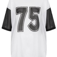 Number Airtex Tee - Jersey Tops  - Clothing