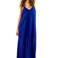 Harlequin maxi in navy  | Show Pony Fashion online shopping
