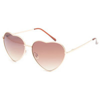 FULL TILT Luv Heart Sunglasses 221368621 | Sunglasses | Tillys.com