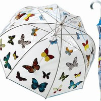 Butterfly Delight Bubble Stick Umbrella