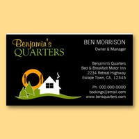 Bed and Breakfast B&B Business Card from Zazzle.com
