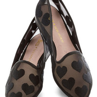 Rachel Antonoff for Bass We Really Mesh Flat | Mod Retro Vintage Flats | ModCloth.com