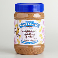 Cinnamon Raisin Swirl Peanut Butter | World Market