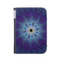 Turquoise Flower Kindle Cover from Zazzle.com