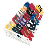 15 Pair Shoe Rack - Reversible by Lynk Inc.