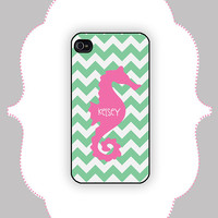iPhone Case- Seahorse Case -iPhone 4/4s, iPhone 5 Case