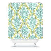 DENY Designs Home Accessories | Rebekah Ginda Design Lovely Damask Shower Curtain