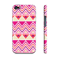 Pink Aztec Tribal - Premium Slim Fit Iphone 5 Case