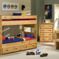 Harley Twin over Twin Stairway Bunk Bed