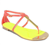 Dolce Sandals - Coral...Follow me for more:)