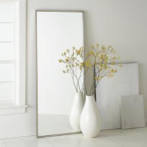 Metal Floor Mirror | west elm