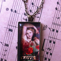 Romance Pendant Necklace On Etsy