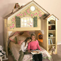 Ashley Dollhouse Loft Bunk Bed