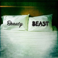 "Pillowcases ""Beauty & Beast """