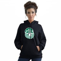 Amazon.com: Stabilitees Funny Starbucks Coffee Inspired Sexy Mermaid from back FHM Top100 Adult Unisex Pullover Hoodie, All Colours: Clothing