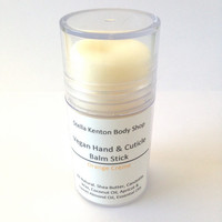 Orange Creme Hand & Cuticle Balm Stick, Vegan, Natural, Lotion, Nail Care, Orange Vanilla