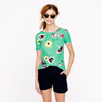 Swoop top in punk floral - tops - Women's shirts & tops - J.Crew