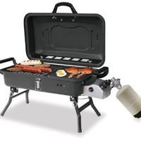 Blue Rhino GBT1030 Portable Propane Barbecue Grill with Griddle and Stove:Amazon:Patio, Lawn & Garden