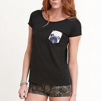 True Love & False Idols Pug Face Pocket Tee at PacSun.com