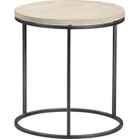 grind sandstone side table