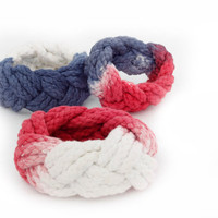 Sailors knot bracelets by KHalchemy on Etsy