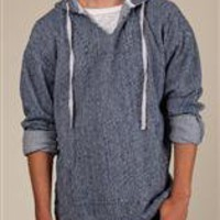 Men's Hoodies | Burnside Striped Hoodie | Alternative Apparel