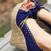 Lace Wedge from sniksa