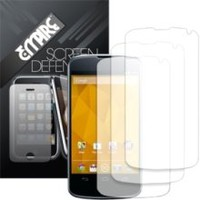 MPERO - 3 Pack of Screen Protectors for Google Nexus 4 E960