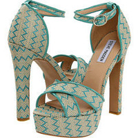 Steve Madden P-Rada Turquoise Multi - 6pm.com