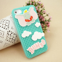 Big Ears Elephant Puzzle Case for iPhone